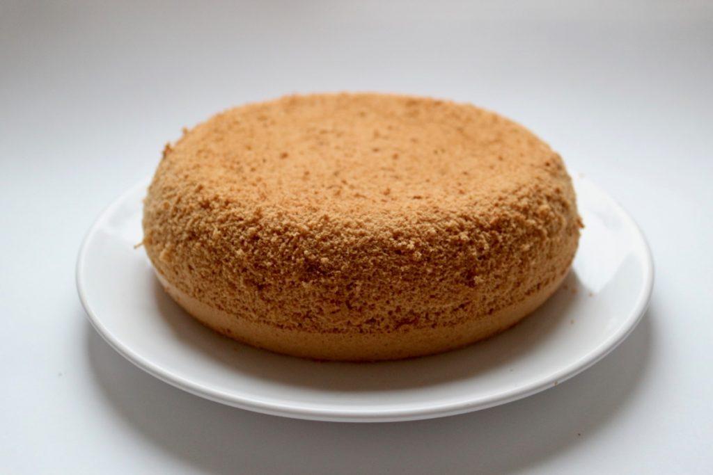 Готовый безглютеновый бисквит