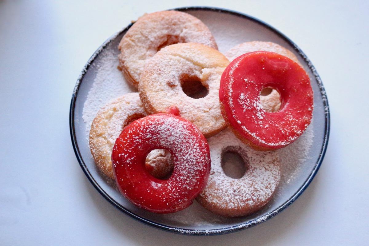 безглютеновые пончики
