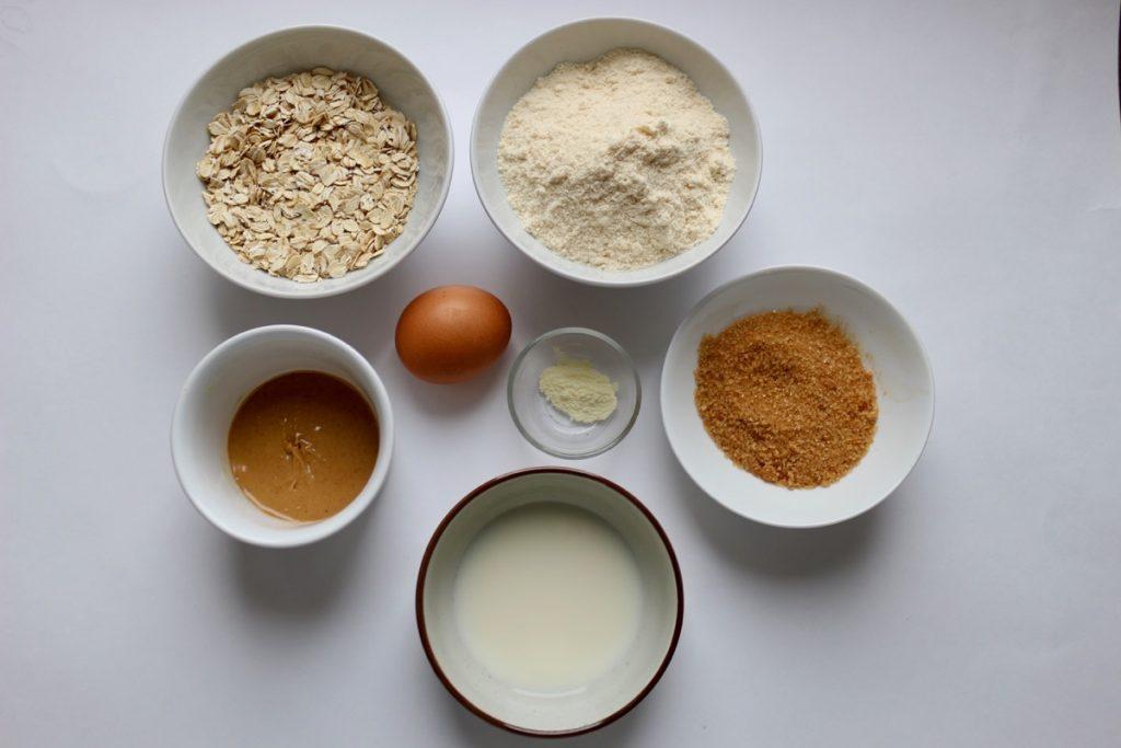 Ингредиенты для безглютенового печенья